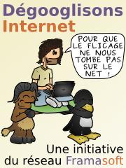 Dégooglisons Internet, une initiative du réseau Framasoft